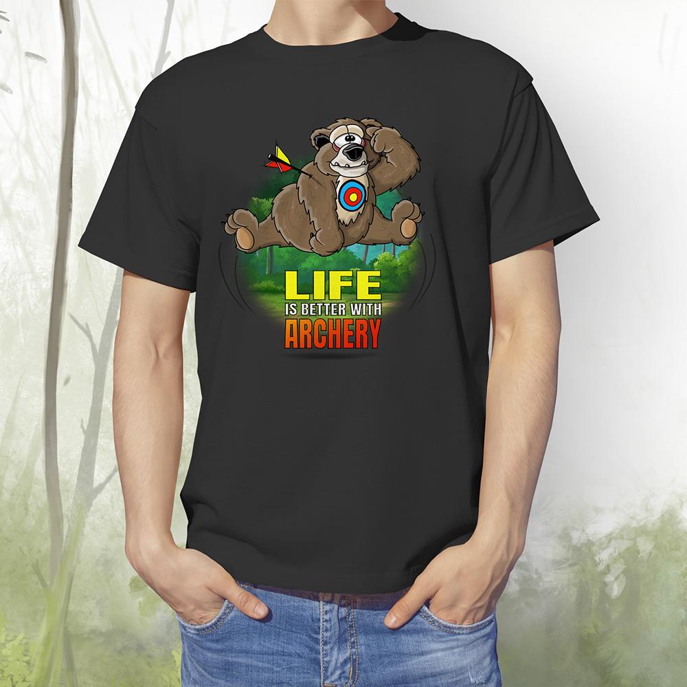T-Shirt Baer1 schwarz