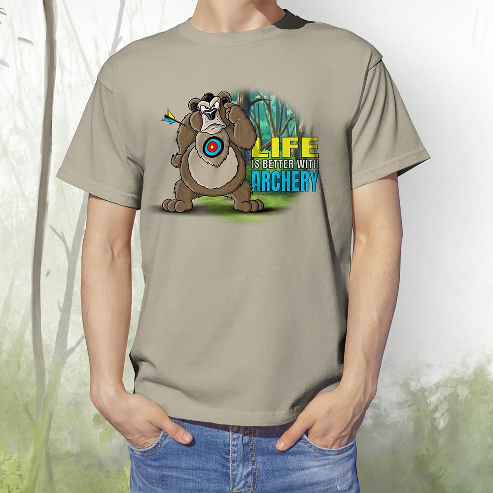 T-Shirt Baer2 khaki
