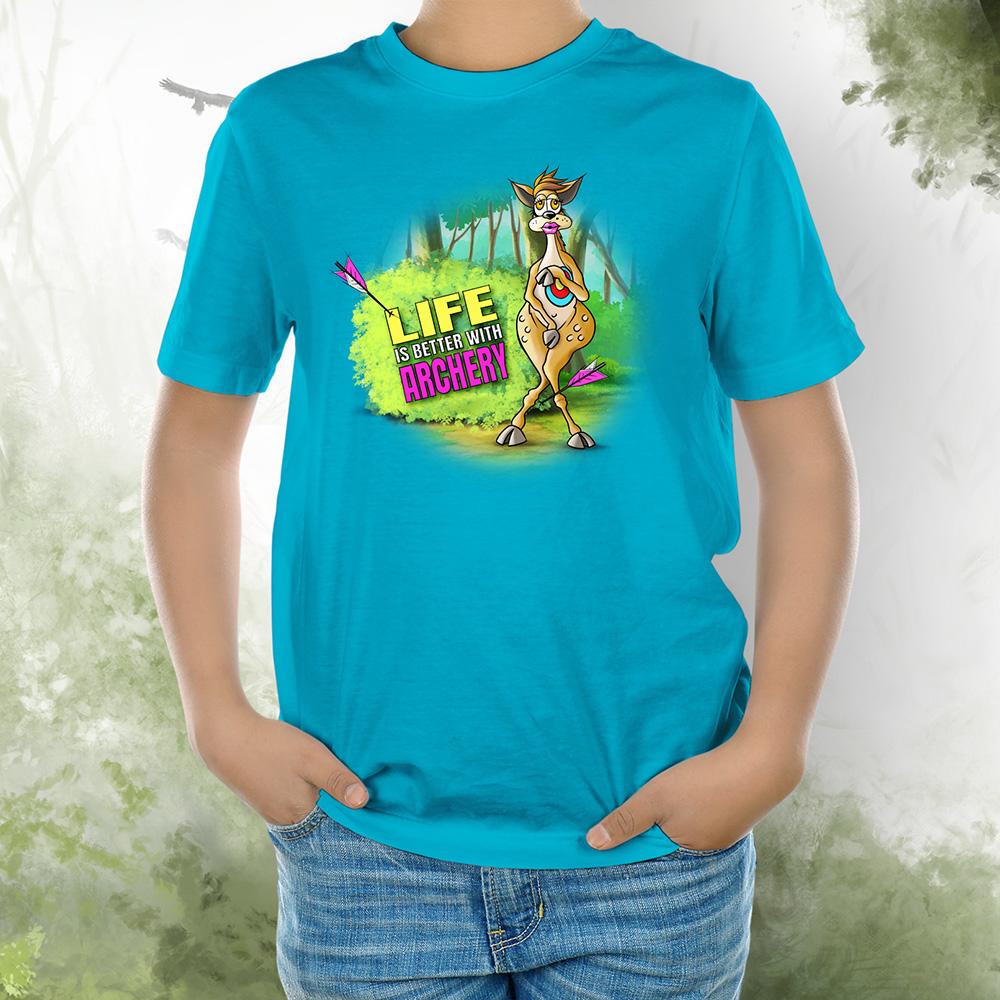 T-Shirt Kids Bambi 2 aqua